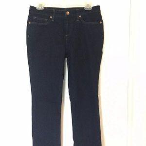 Lands' End Chase Bank Jeans size 6 NWOT